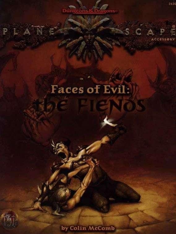 Faces of evil the fiends ad d planescape