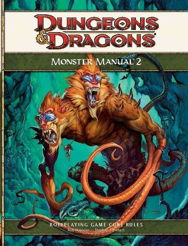 Dungeons And Dragons 4e Monster Manual 2 Manual Guide