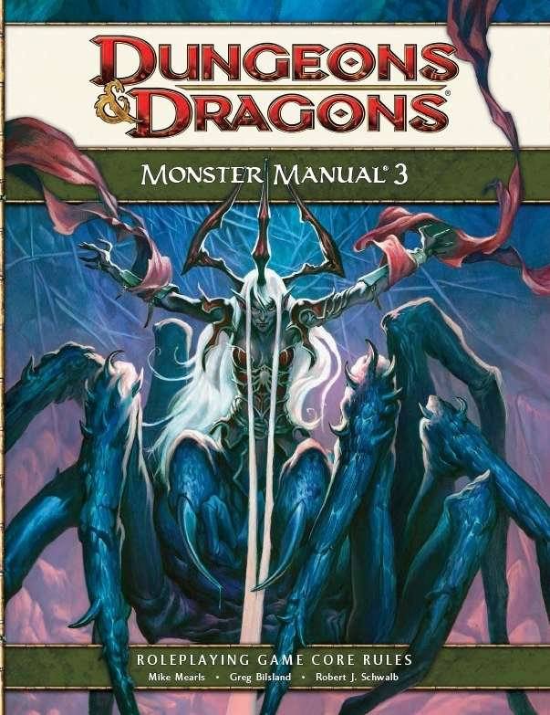 Monster Manual 3 4e Manual Guide