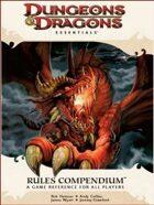 D&D Rules Compendium (4e)
