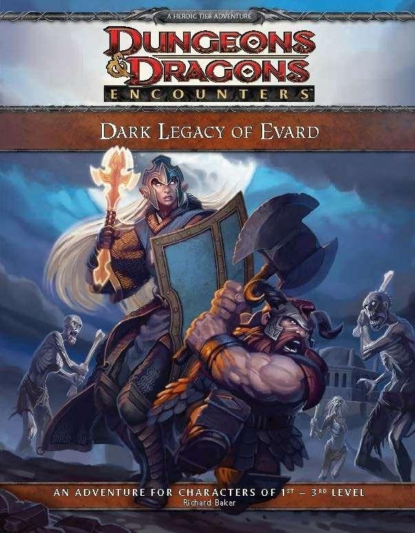 Cover of D&D Encounters Season 5 - Dark Legacy of Evard