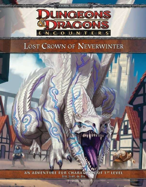 Cover of D&D Encounters Season 6 - Lost Crown of Neverwinter