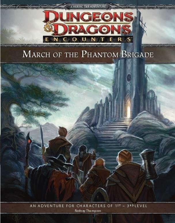Cover of D&D Encounters Season 4 - March of the Phantom Brigade