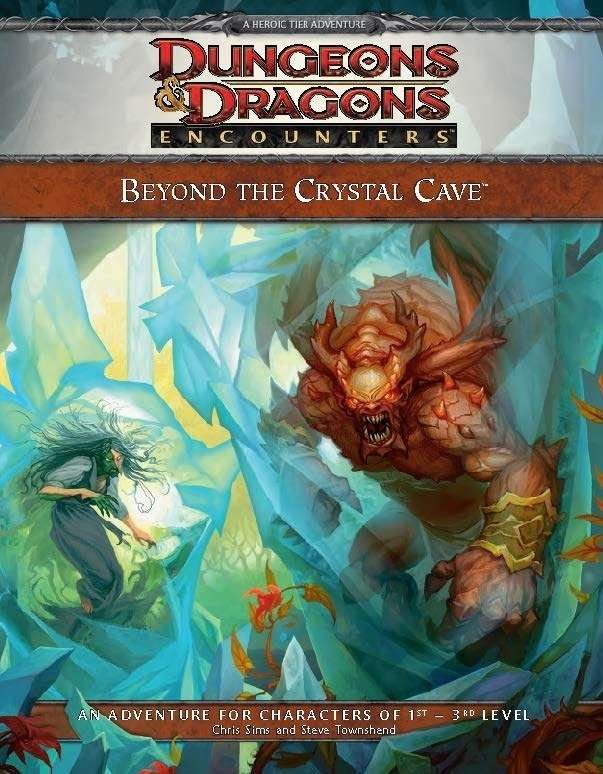 Cover of Beyond the Crystal Cave