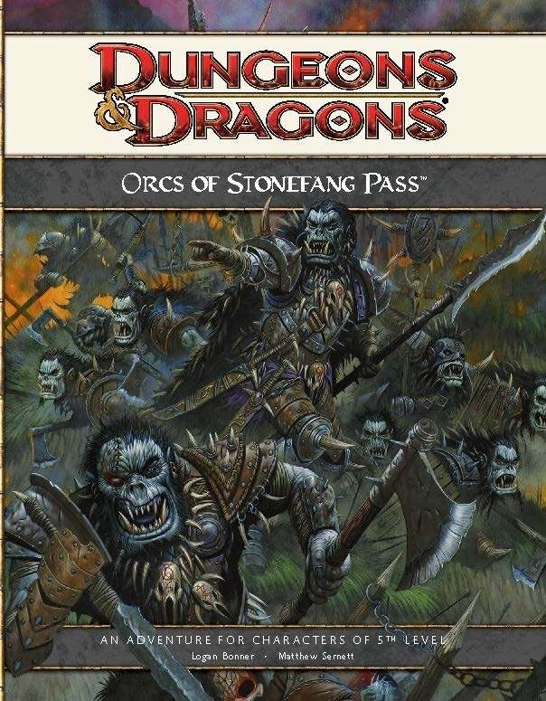 Cover of HS2 - Orcs of Stonefang Pass