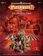 GAZ10 The Orcs of Thar (Basic)