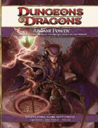 Arcane Power (4e)
