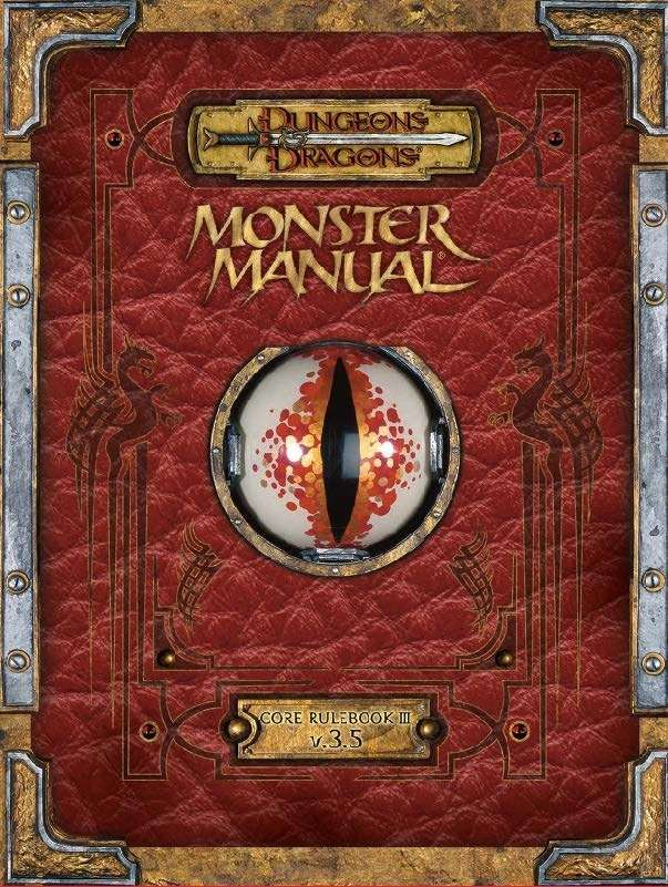 Monster manual 3. 5 edition premium rpg books » dungeons and.