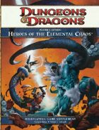 Player's Option: Heroes of the Elemental Chaos (4e)