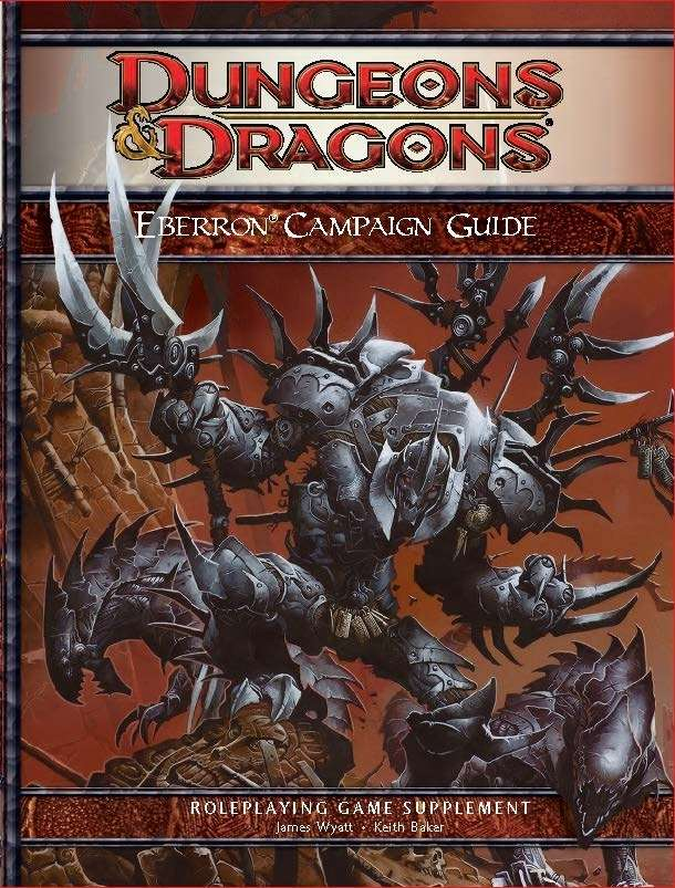 Image result for eberron campaign guide 4e pdf