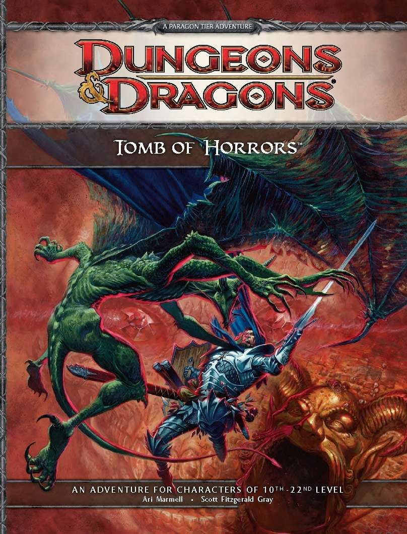 Cover of Tomb of Horrors (super-adventure)