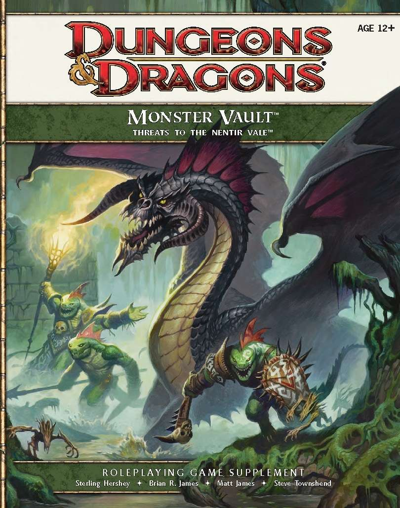 Monster Vault: Threats to the Nentir Vale (4e) - Wizards of the Coast |  Dungeons & Dragons 4e | Dungeons & Dragons 4e | Dungeon Masters Guild