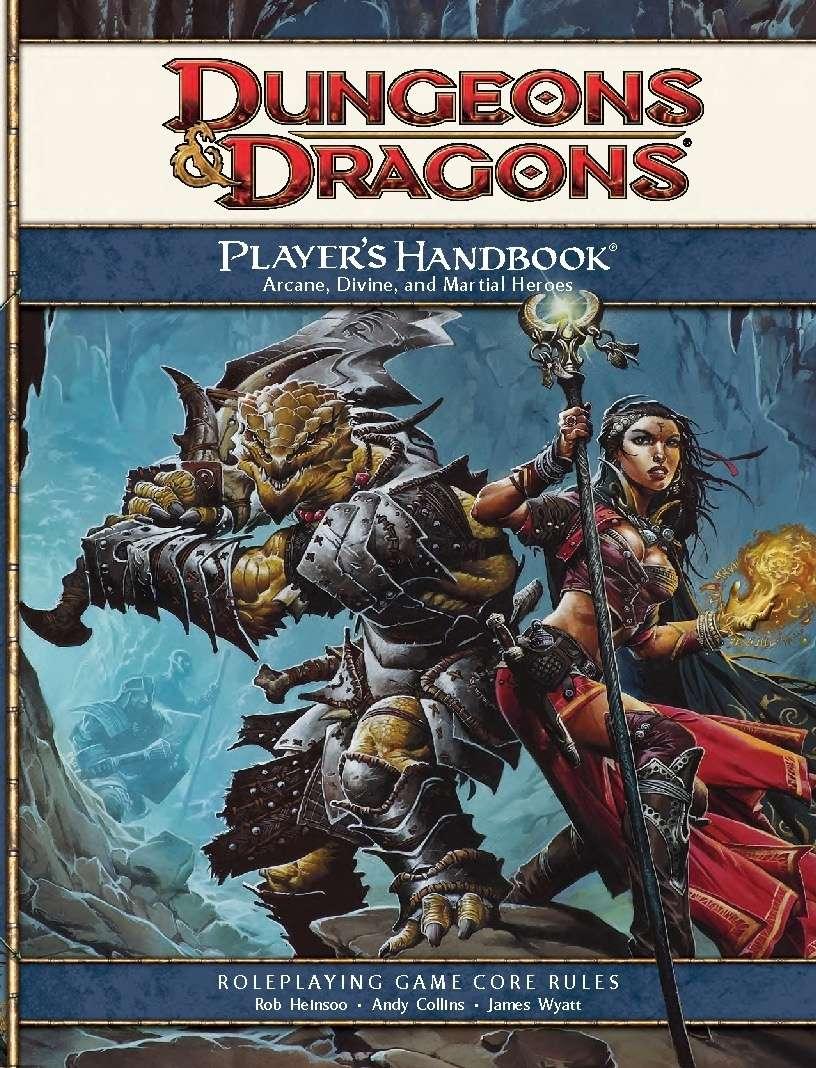 Player's Handbook (4e) - Wizards of the Coast | Dungeons & Dragons 4e |  Dungeons & Dragons 4e | DriveThruRPG.com