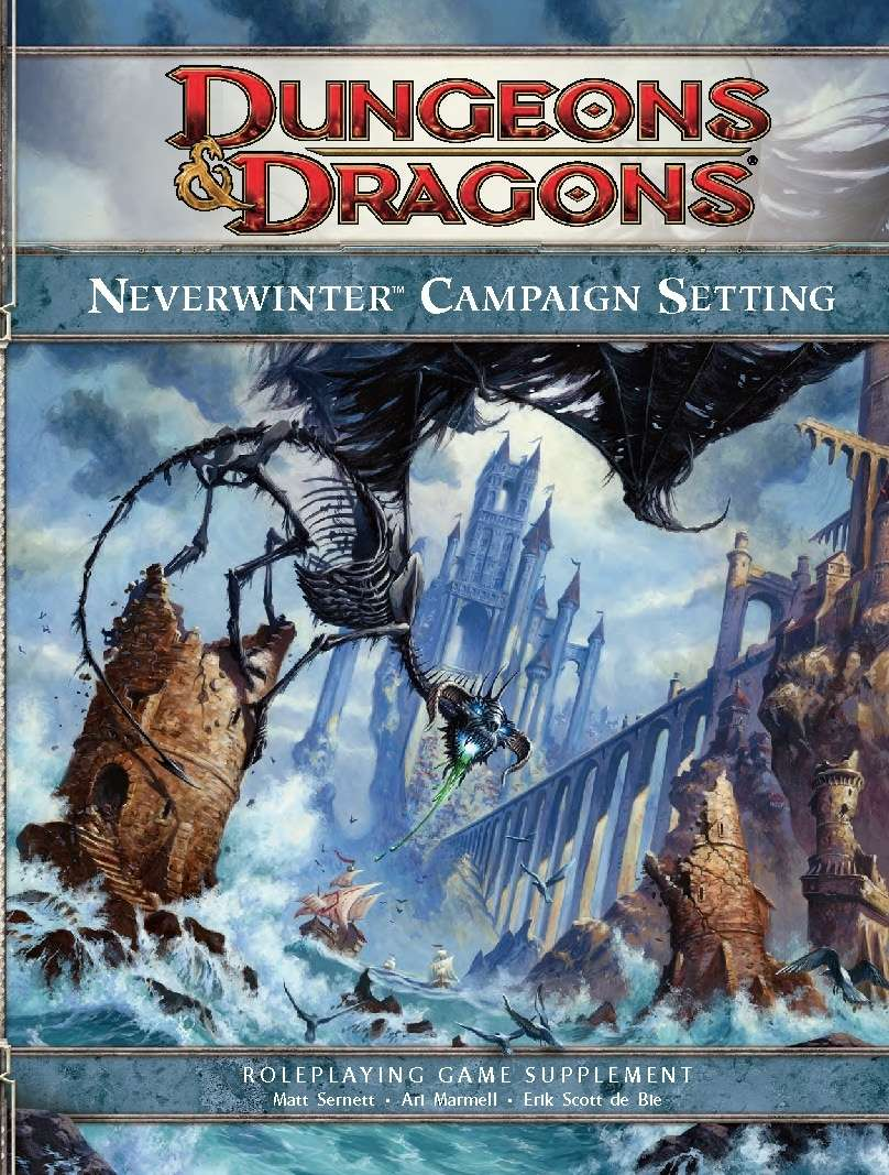 Neverwinter Campaign Setting (4e) - Wizards of the Coast
