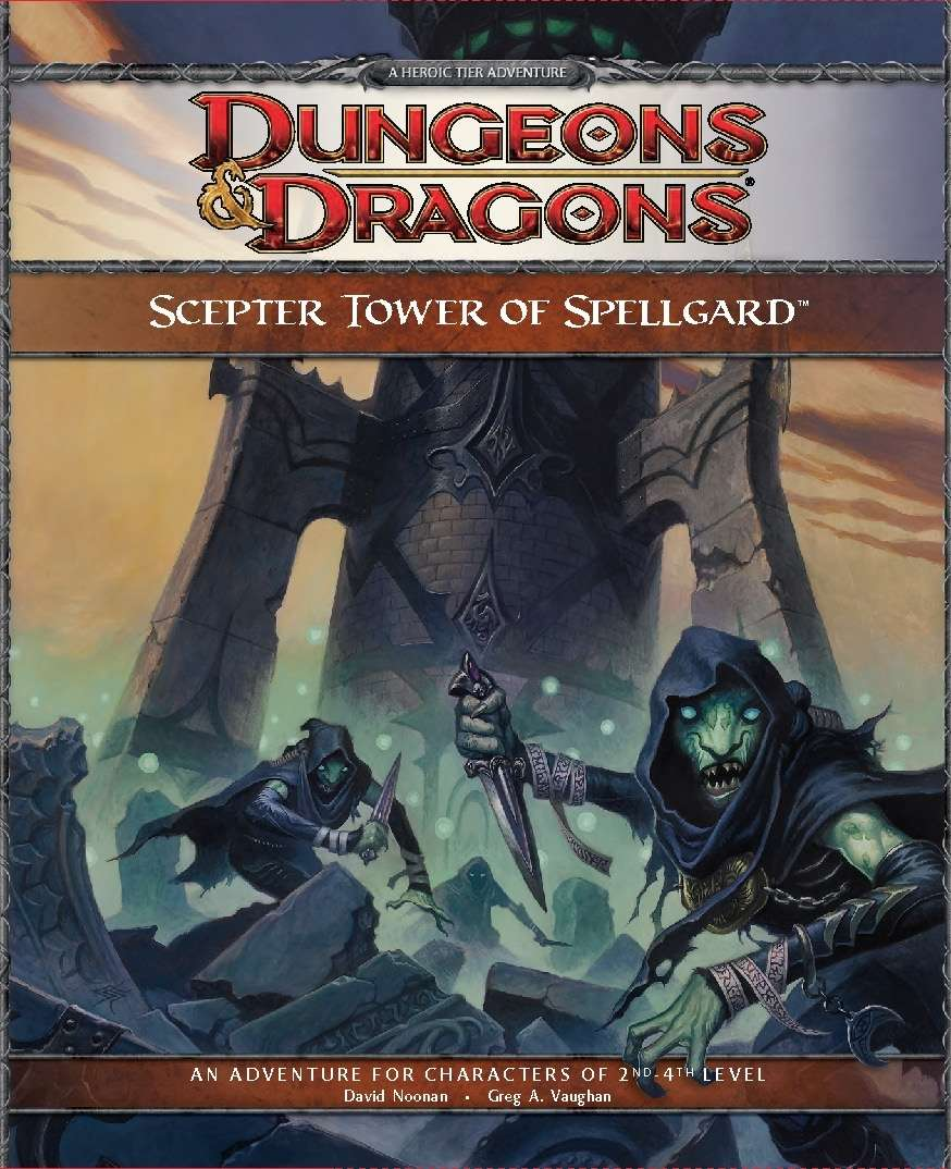 Cover of The Scepter Tower of Spellgard