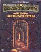The Ruins of Undermountain (2e)