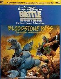 Cover of H1 Bloodstone Pass