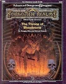 Cover of H4 The Throne of Bloodstone