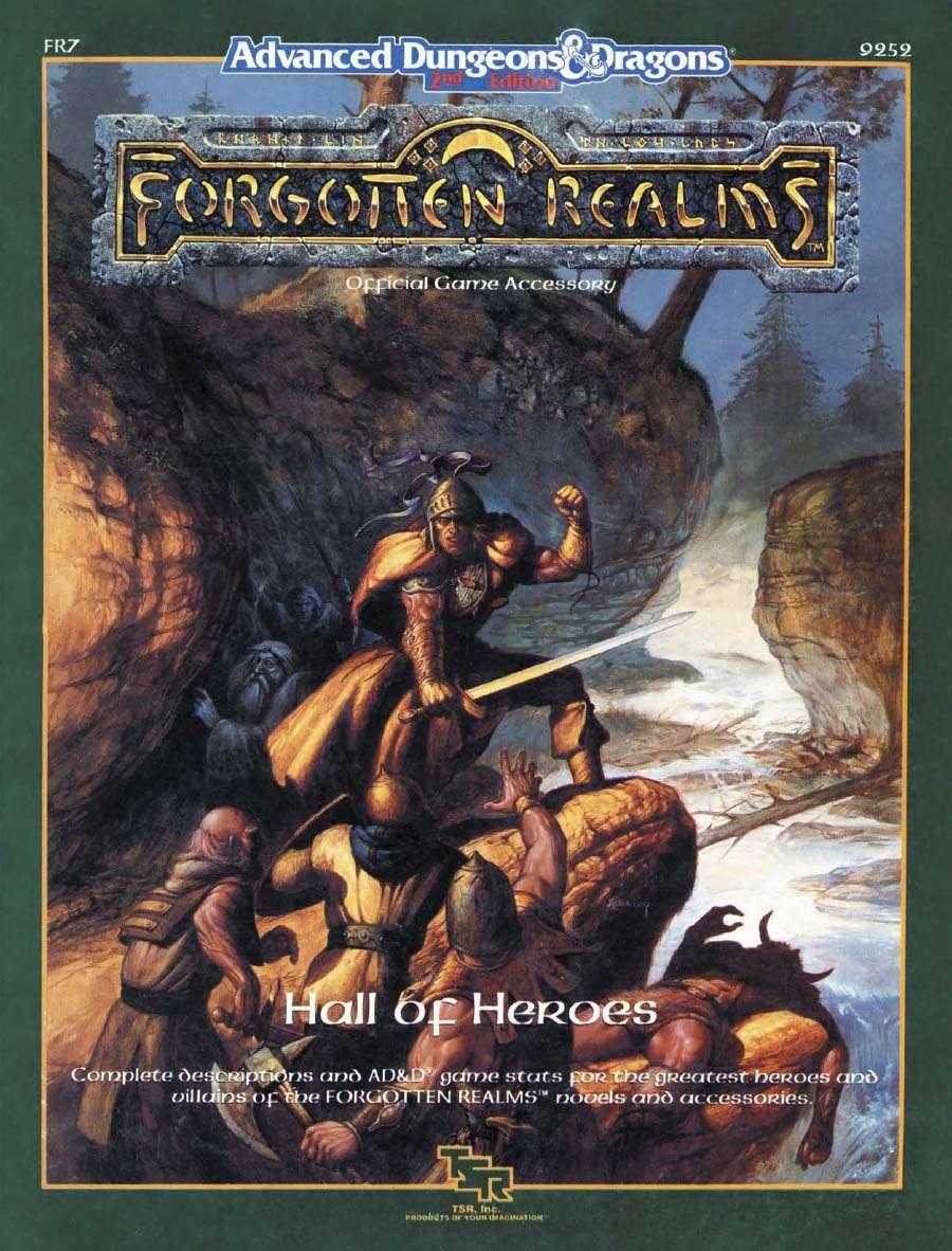 Descargar Epub FR7: Hall Of Heroes (1e/2e) - Wizards Of The