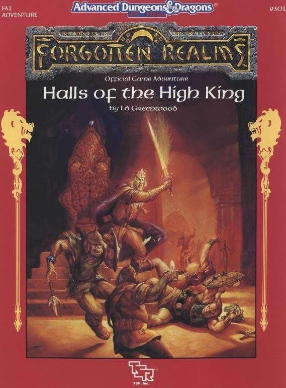 Cover of FA1 Halls of the High King