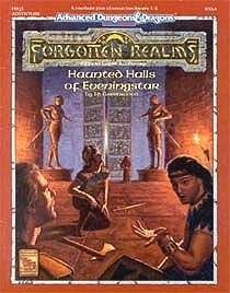 Cover of FRQ1 Haunted Halls of Eveningstar