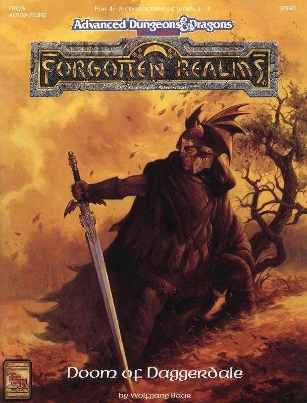 Cover of FRQ3 Doom of Daggerdale
