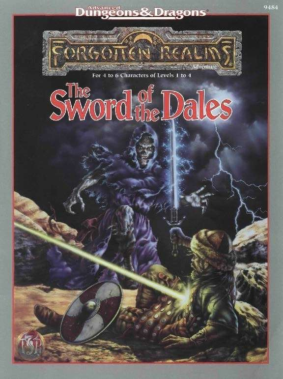Cover of The Sword of the Dales