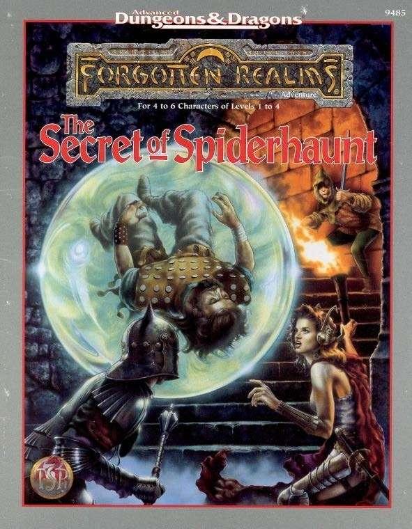 Cover of The Secret of Spiderhaunt