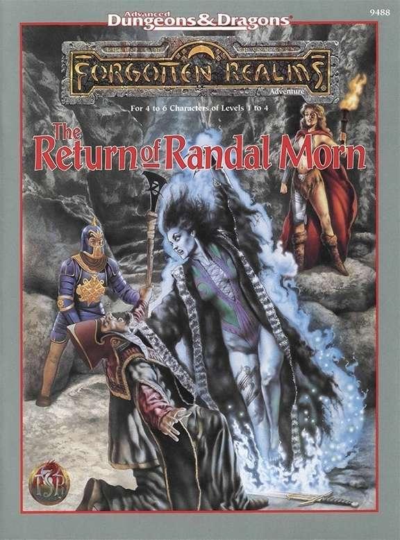 Cover of The Return of Randal Morn