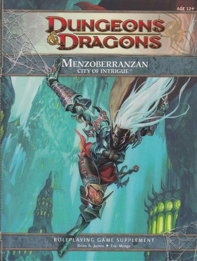 Menzoberranzan city of intrigue 4e pdf
