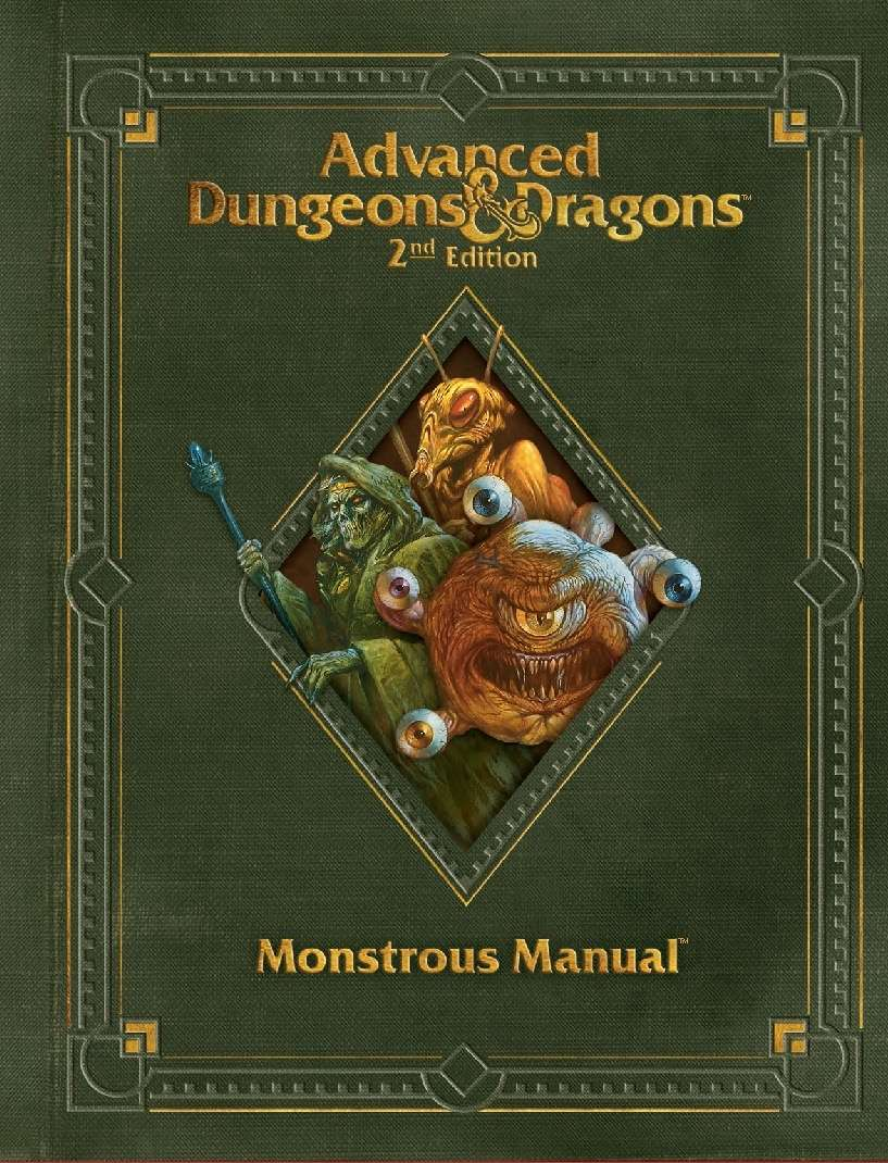 Monstrous Manual (2e) - Wizards of the Coast | AD&D 2nd Ed. | Rules | AD&D  2nd Ed. | DriveThruRPG.com