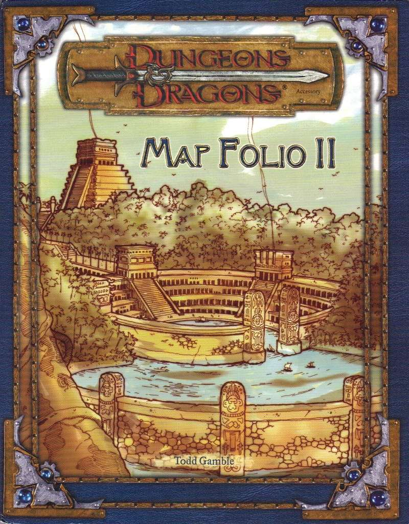 Map Folio II (3.5) - Wizards of the Coast | Dungeons & Dragons 3.x on