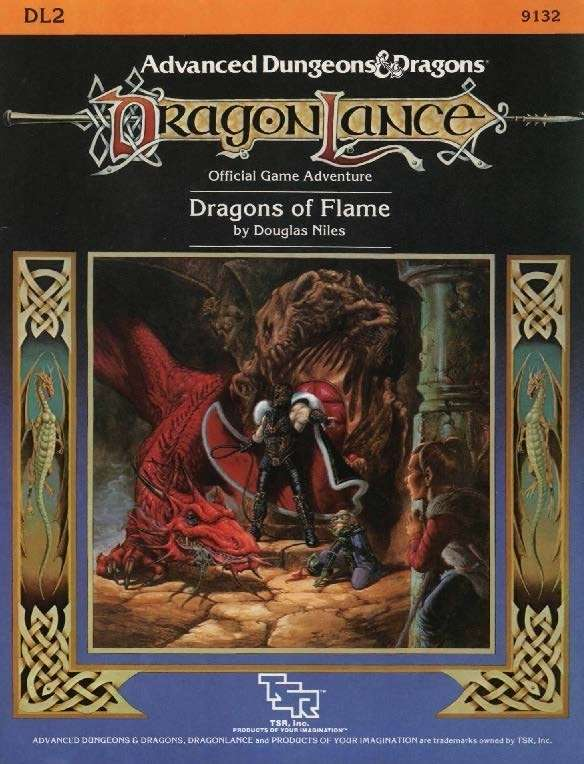 Cover of DL2 Dragons of Flame