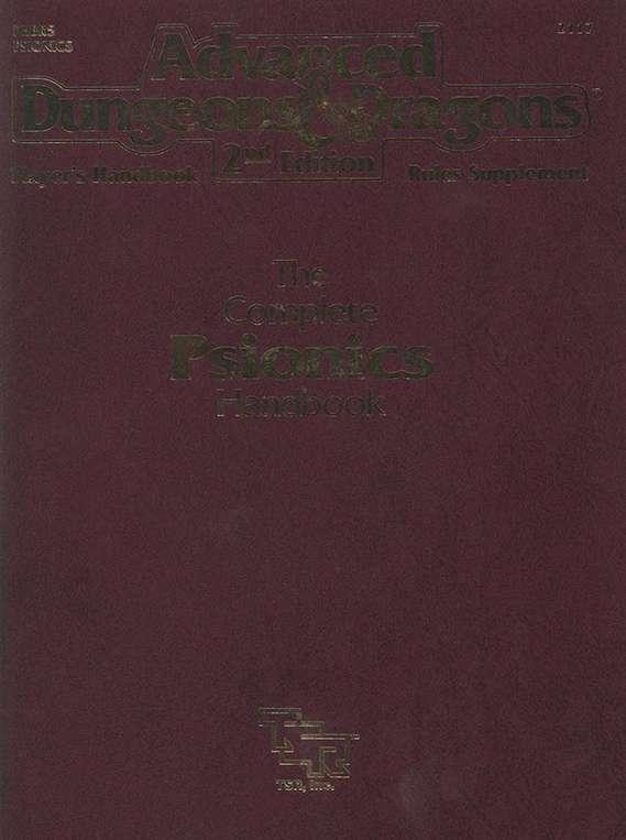 Complete Psionics Handbook Pdf
