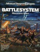 Battlesystem Miniatures Rules (2e)
