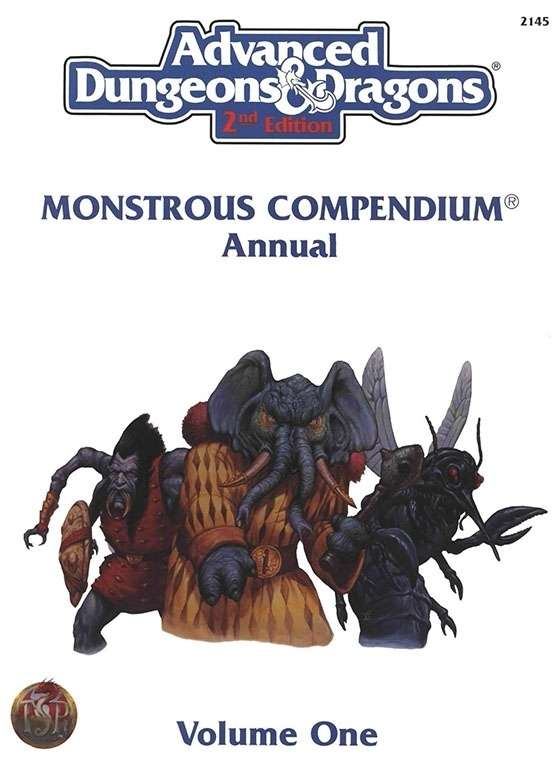 Monstrous Compendium Annual Vol 1 Cover