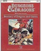 AC10 Bestiary of Dragons & Giants (Basic)
