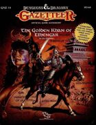 GAZ12 The Golden Khan of Ethengar (Basic)