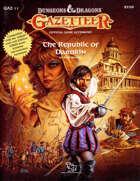 GAZ11 The Republic of Darokin (Basic)