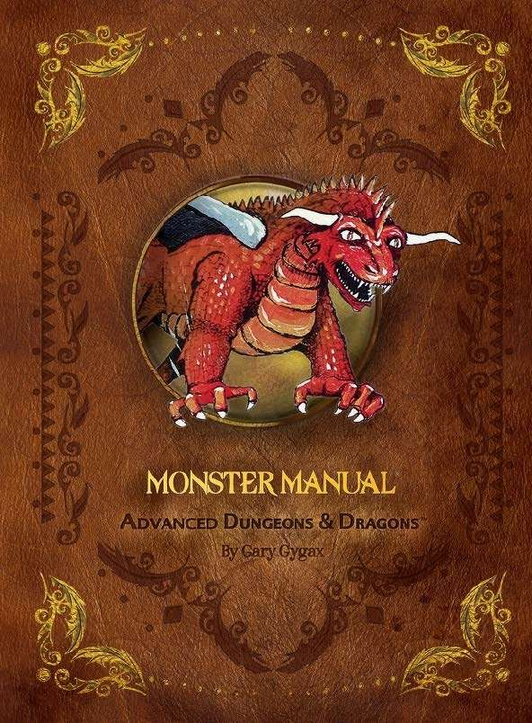 Monster Manual 1e Wizards Of The Coast Ad D 1st Ed Rules