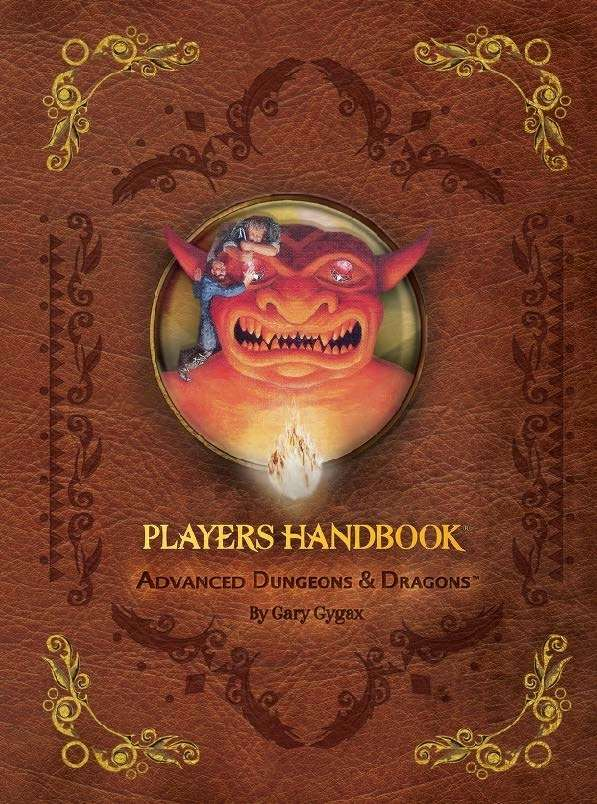 d&d 4th players handbook (deluxe edition)