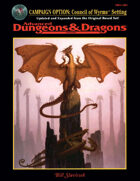 Campaign Option: Council of Wyrms Setting (2e)