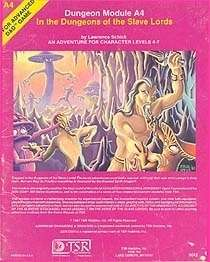 A4 In the Dungeons of the Slave Lords (1e) - Wizards of the