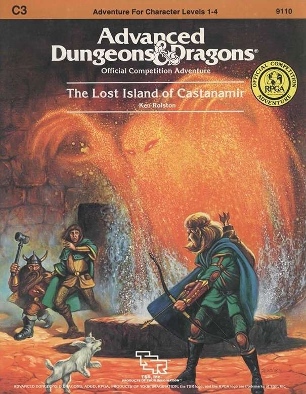 Cover of C3 The Lost Island of Castanamir
