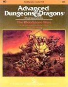 H3 The Bloodstone Wars (1e)