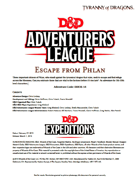 DDEX1-14 Escape from Phlan (5e)