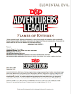 DDEX2-05 Flames of Kythorn (5e)