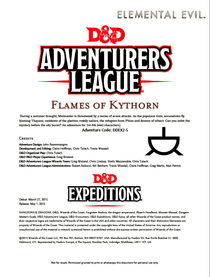 Cover of DDEX02-05 Flames of Kythorn