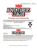 DDEX2-10 Cloaks and Shadows (5e)