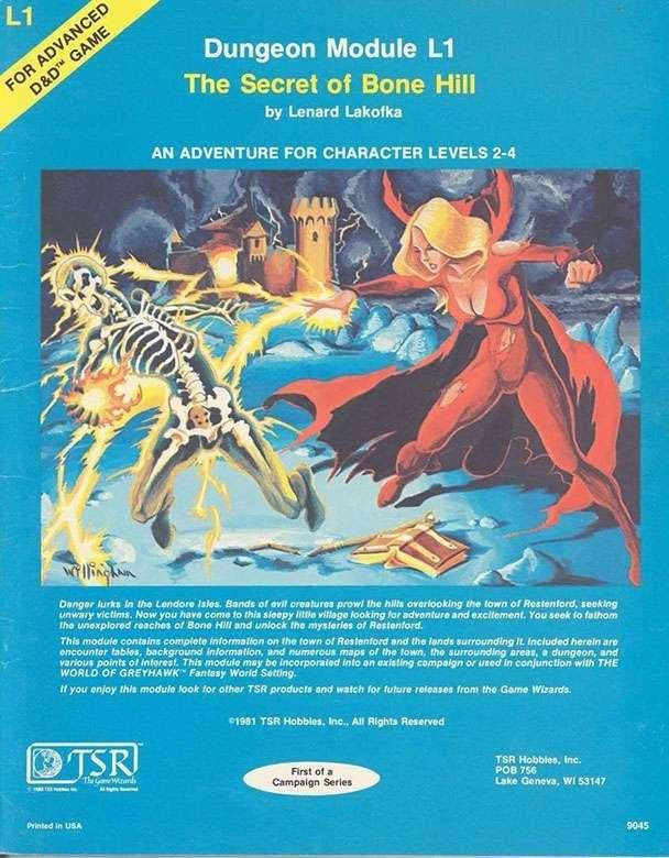 Cover of L1 The Secret of Bone Hill